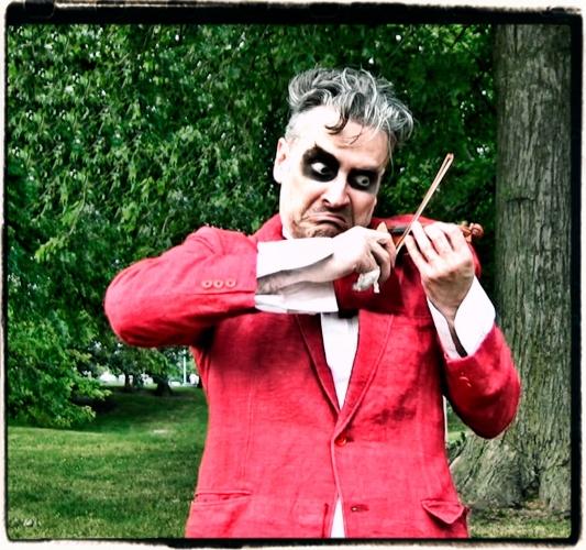 joe mazza, playwright, performer, and puppet creator